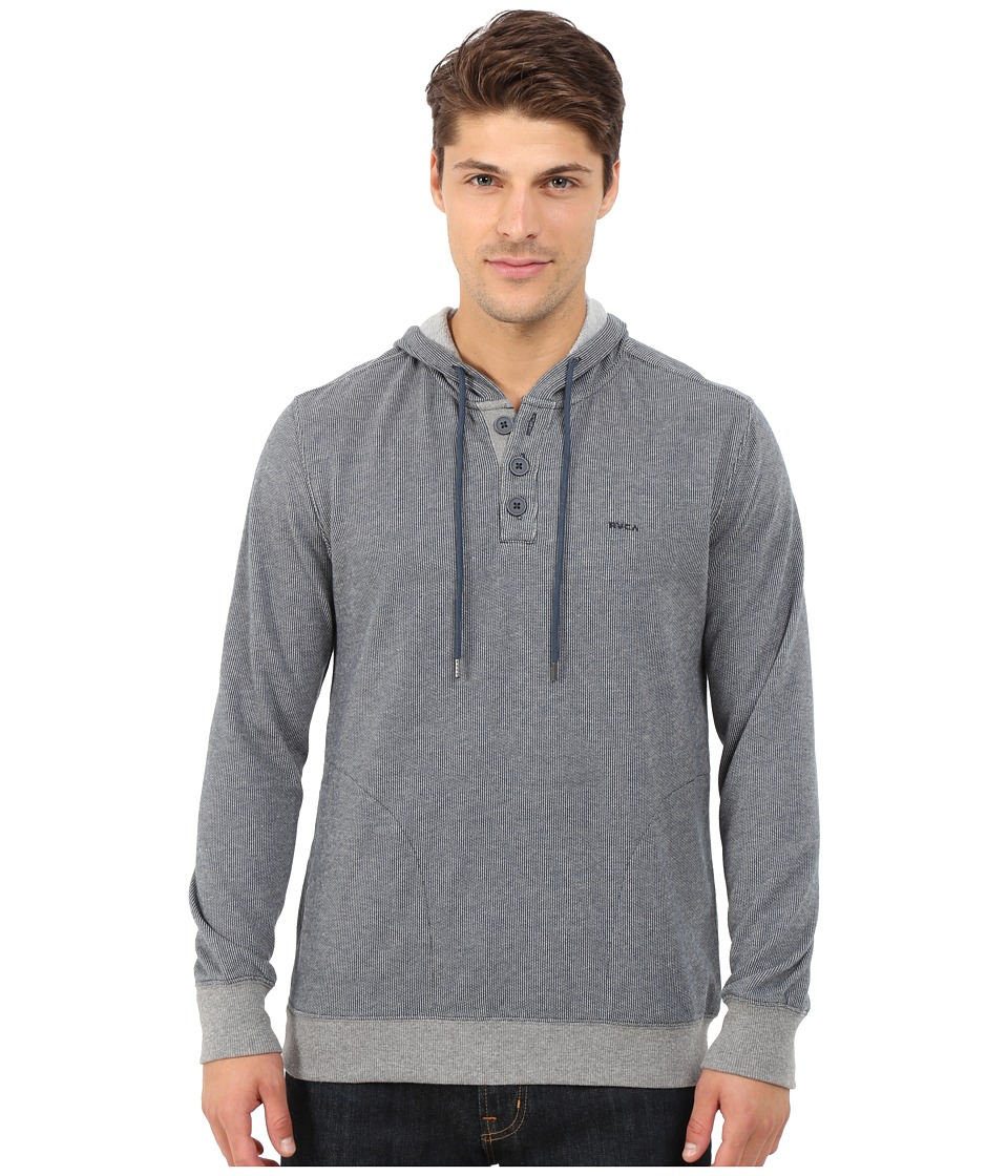 RVCA - Capo II Pullover Fleece (Midnight) Men