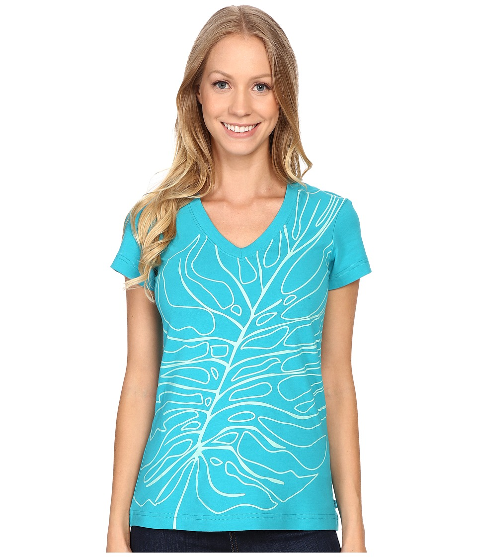 Merrell - Big Leaf Tee (Lake Blue) Women's T Shirt