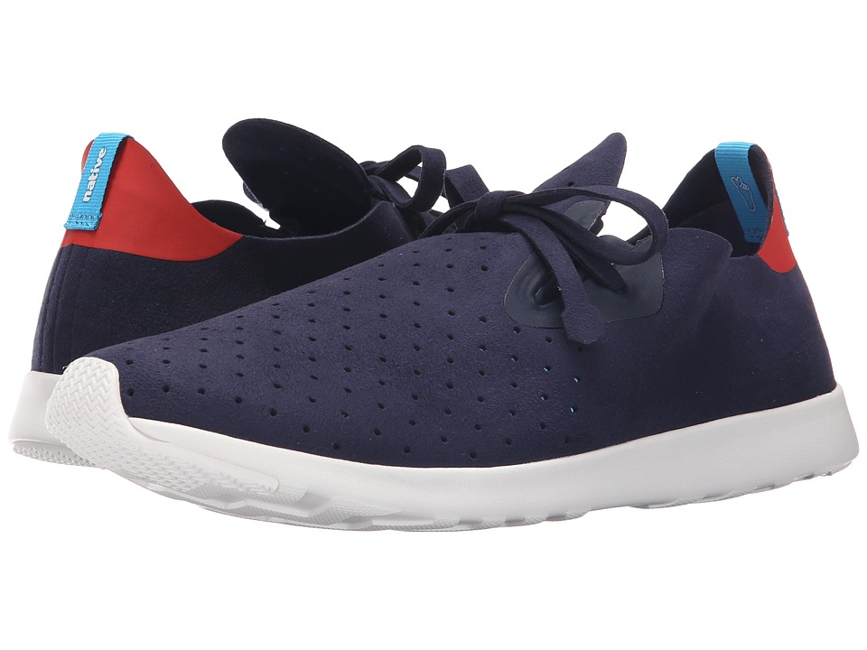 Native Shoes - Apollo Moc (Regatta Blue/Torch Red/Shell White) Shoes