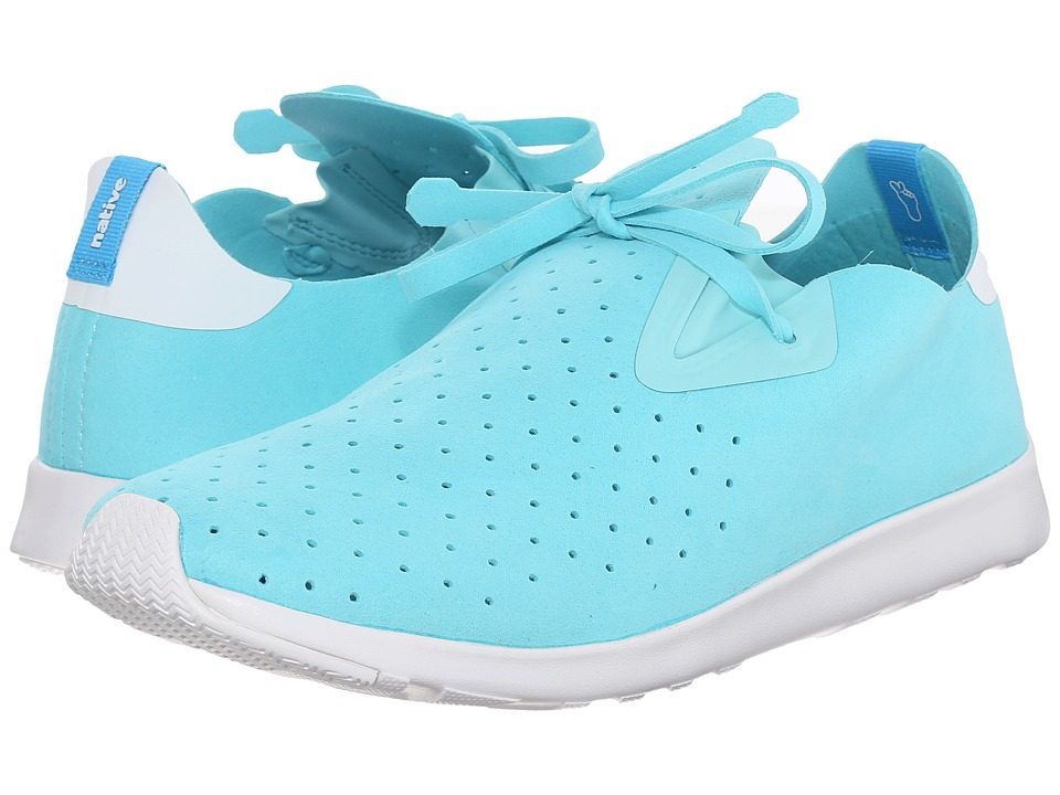 Native Shoes Apollo Moc (Cabo Blue/Shell White/Shell White) Shoes