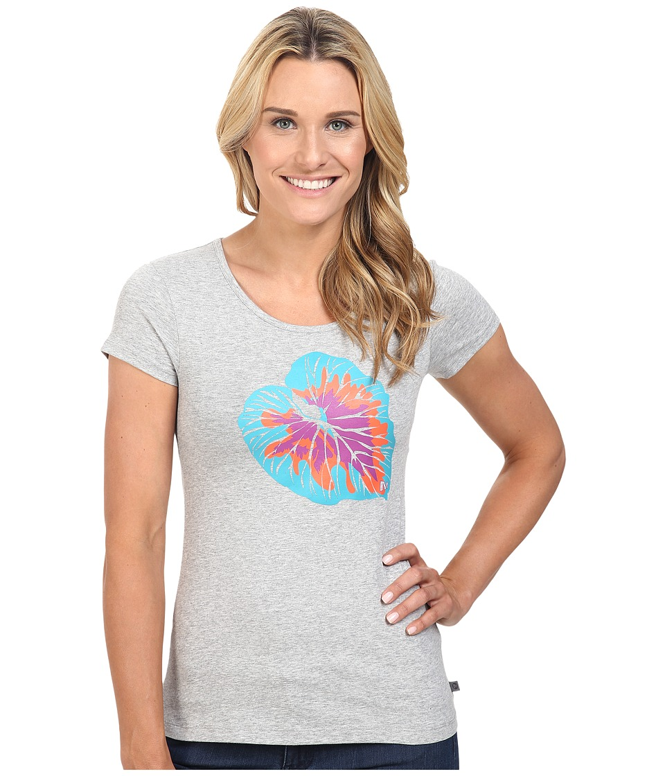 Merrell - Palm Leaf Tee (Ice Heather) Women's T Shirt