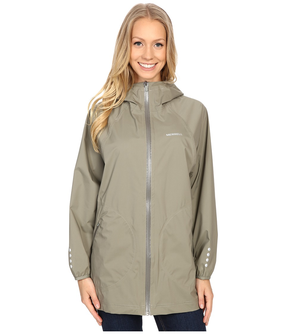 Merrell - Sunstark Poncho (Putty) Women's Coat