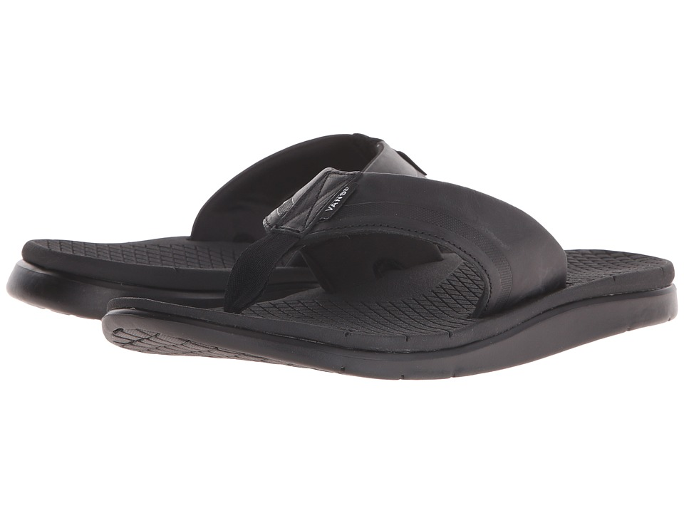 Vans - UC1 LX (Black/Black) Men's Sandals