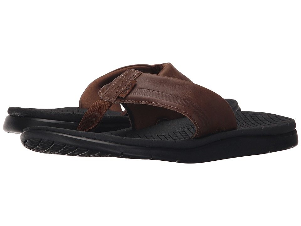 Vans - UC1 LX (Bison/Black) Men's Sandals
