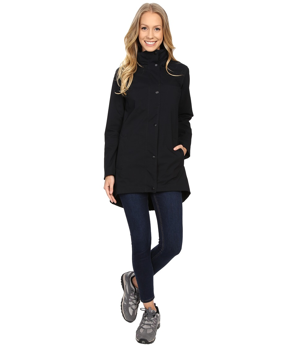 Merrell - Atlas Bounce Long Jacket (Black) Women's Coat