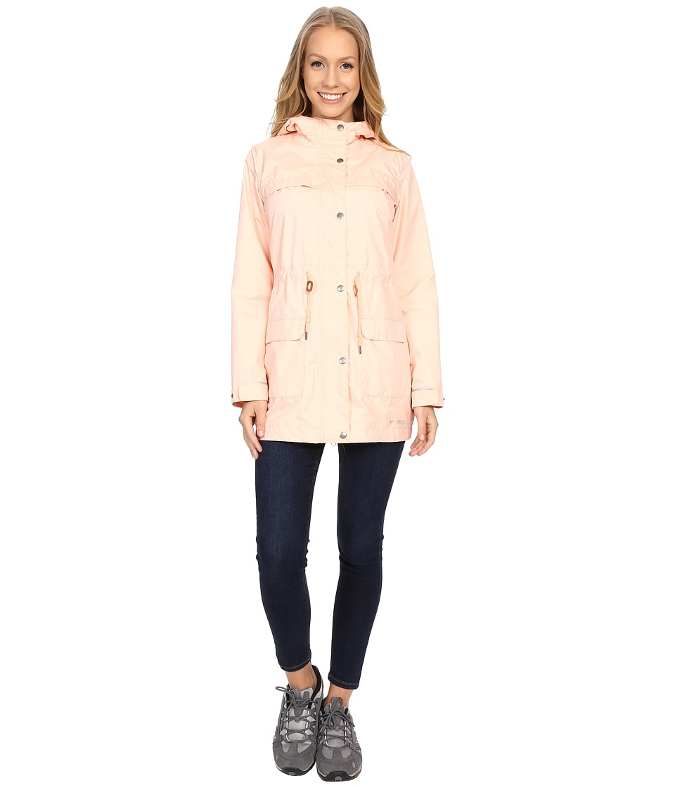 Merrell - Alvar Long 2L Jacket (Peach Nectar) Women