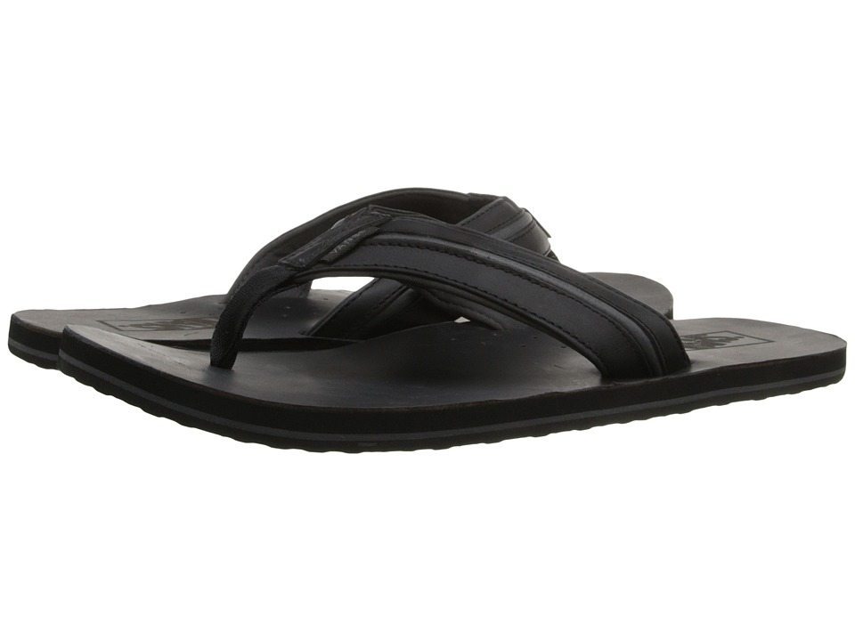 Vans - Nexpa LX ((Leather) Black/Asphalt) Men's Sandals