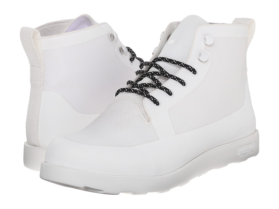 Native Shoes - Fitzroy (Shell White/Shell White) Lace-up Boots