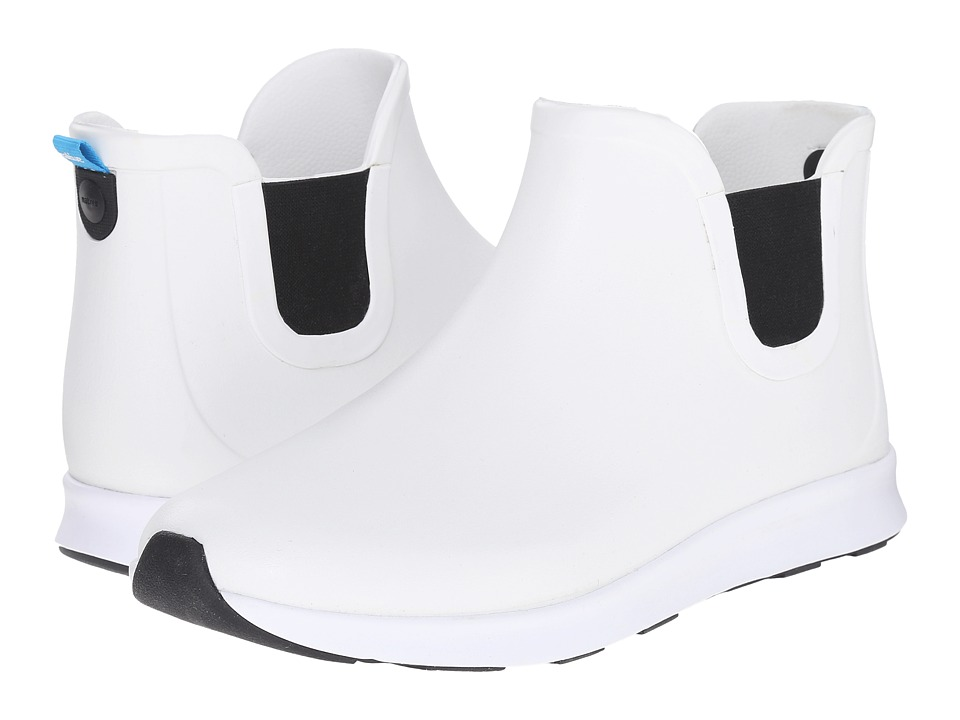 Native Shoes - Apollo Rain (Shell White/Shell White/Jiffy Black Rubber) Rain Boots