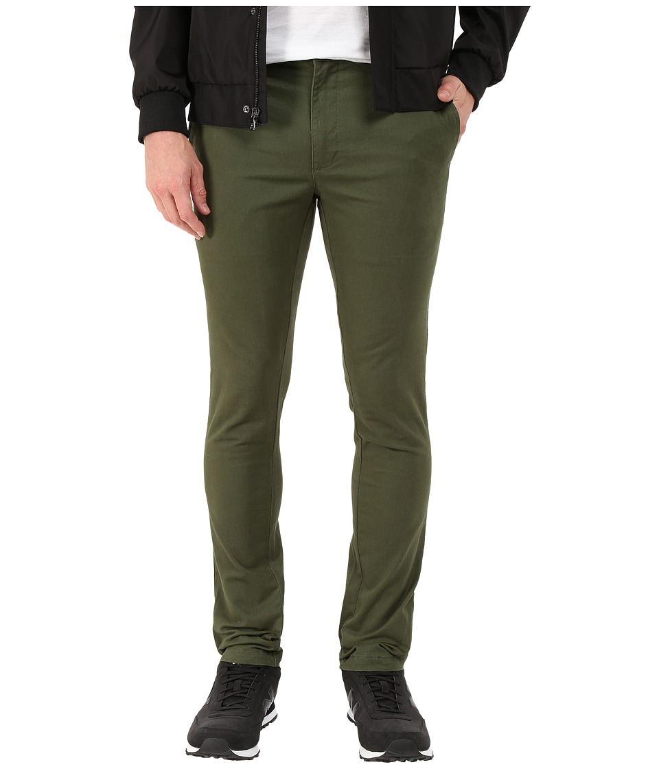 RVCA - Stapler Twill Pant (Forest) Men's Casual Pants