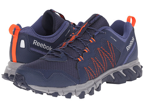 Reebok - Trailgrip RS 4.0 (Collegiate Navy/Tin Grey/Midnight Blue/Atomic Red) Men