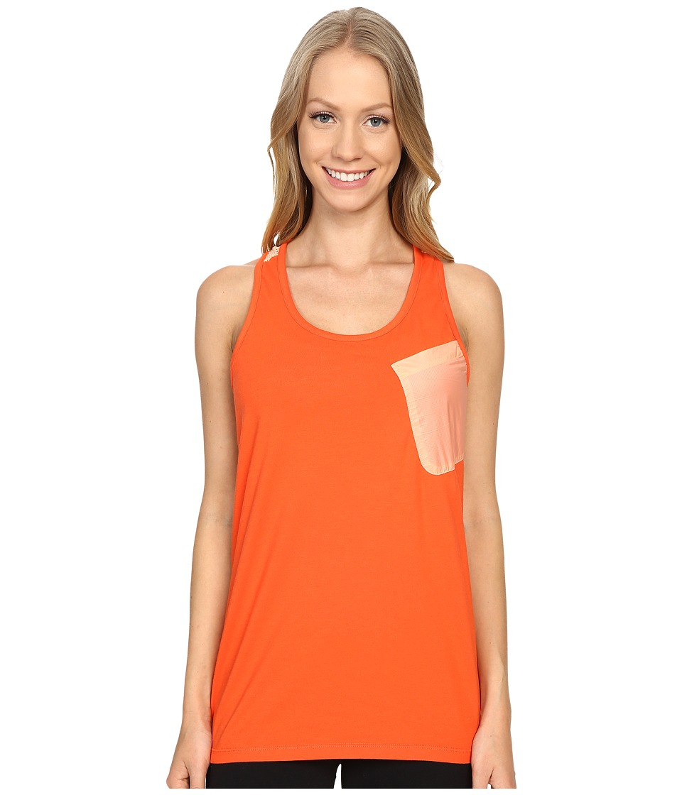 Merrell - Around Town Tank Top (Mandarin Red) Women's Sleeveless