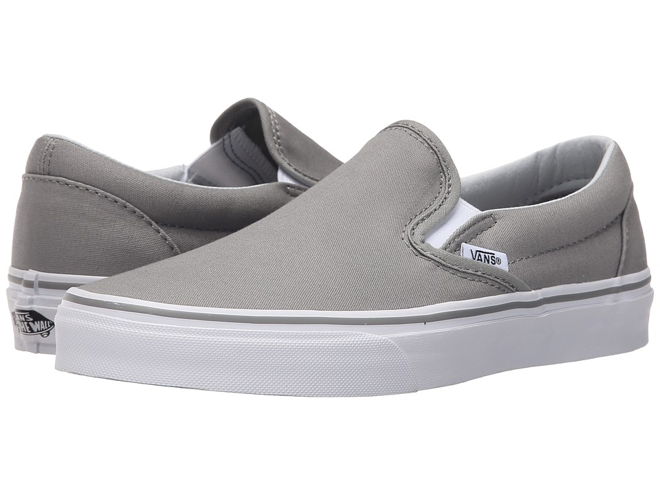 Vans - Classic Slip-On (Wild Dove/True White) Skate Shoes