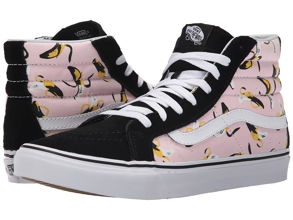Vans - SK8-Hi Slim ((Bananas) Ballerina/True White) Skate Shoes
