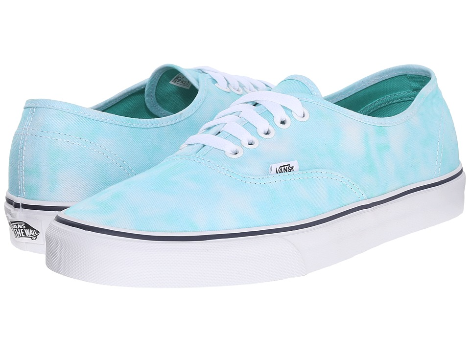 Vans - Authentic ((Tie Dye) Turquoise) Skate Shoes