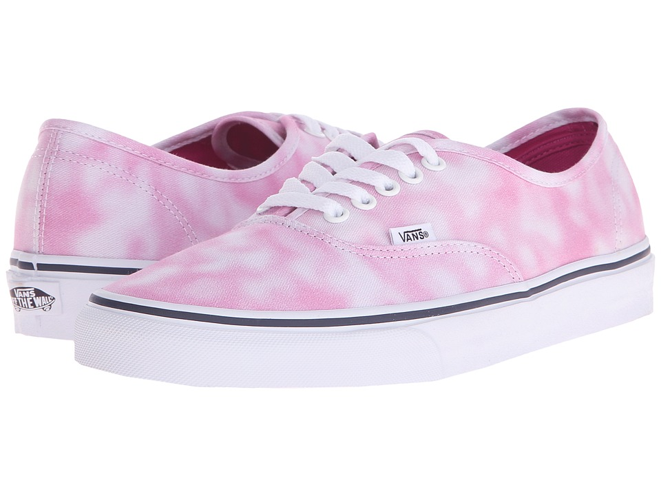 Vans - Authentic ((Tie Dye) Rose Violet) Skate Shoes