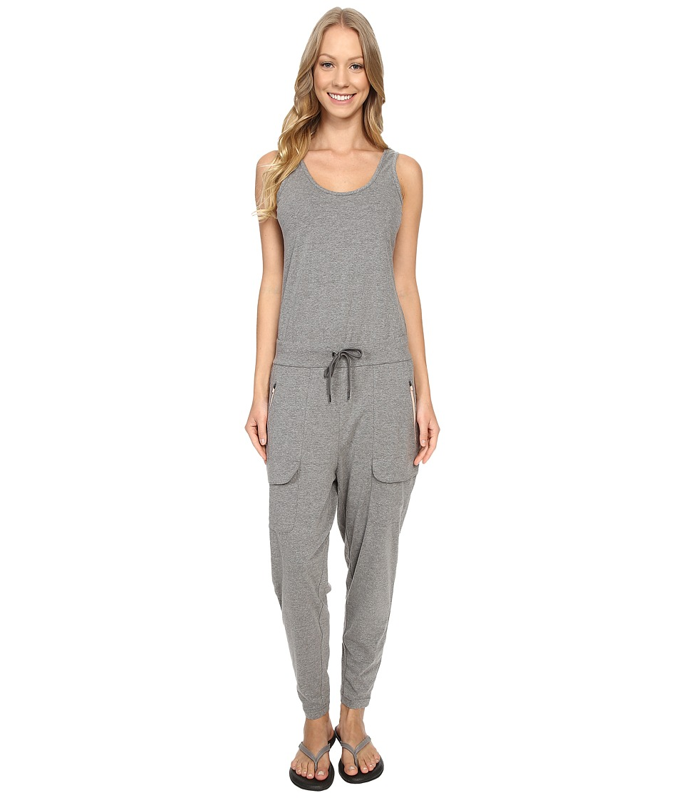 Merrell - Around Town Romper (Concrete Heather) Women's Jumpsuit & Rompers One Piece