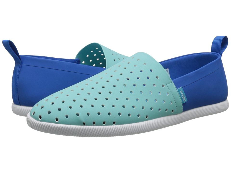 Native Shoes Venice (Cabo Blue/Barracuda Blue/Shell White) Shoes