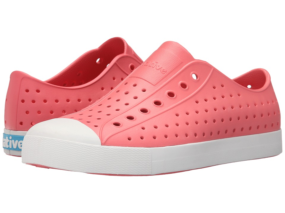 Native Shoes - Jefferson (Snapper Red/Shell White) Shoes
