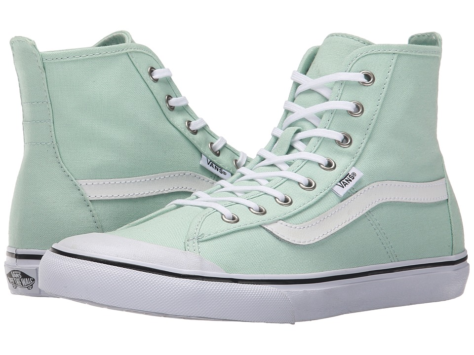 Vans - Dazie-Hi ((Dots) Gossamer Green) Women's Shoes