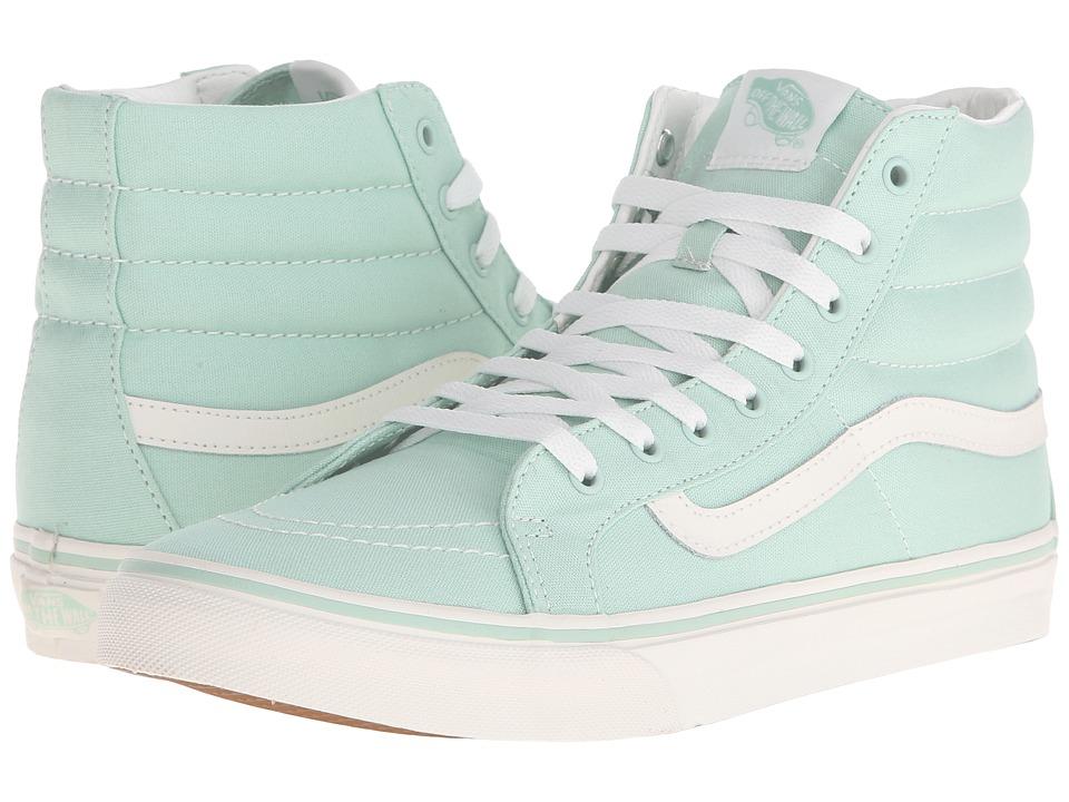 Vans - SK8-Hi Slim (Gossamer Green/Blanc de Blanc) Skate Shoes