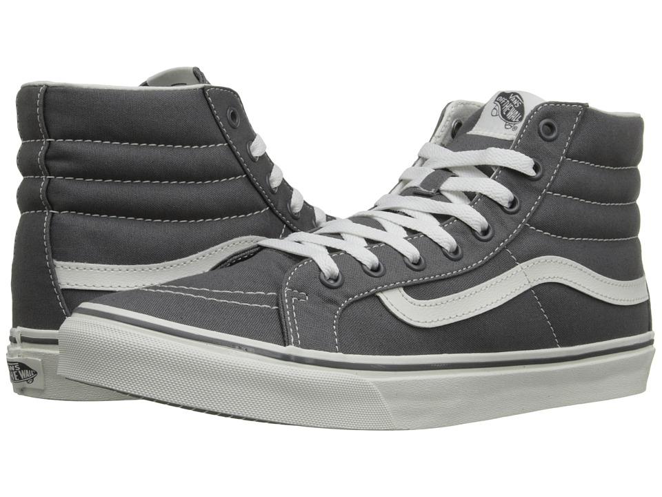 Vans - SK8-Hi Slim (Castlerock/Blanc de Blanc) Skate Shoes