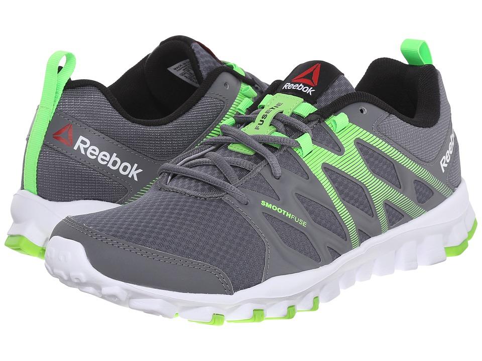 Reebok - RealFlex Train 4.0 (Alloy/Solar Green/White/Black) Men