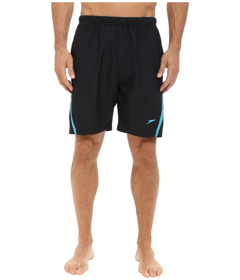 Speedo Hydrovolley w/ Compression Jammer (Black/Blue) Men