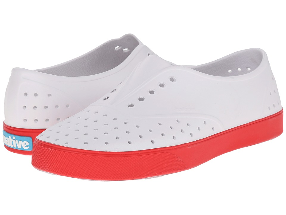 Native Shoes - Miller (Shell White/Torch Red) Slip on Shoes