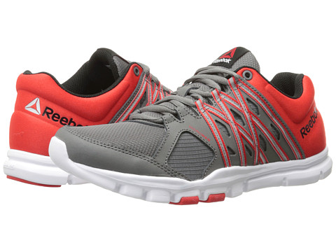 Reebok - Yourflex Train 8.0 L MT (Medium Grey/Motor Red/Black/White) Men