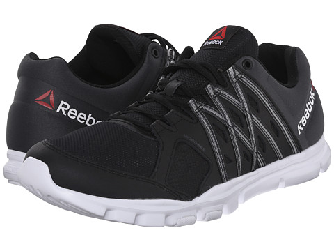 Reebok - Yourflex Train 8.0 L MT (Black/Gravel/White) Men's Cross Training Shoes