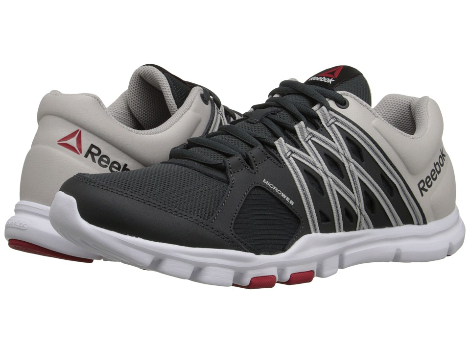 reebok yourflex 8. gravel upc 889133079639 product image for reebok - yourflex train 8.0 l mt (gravel/steel 8