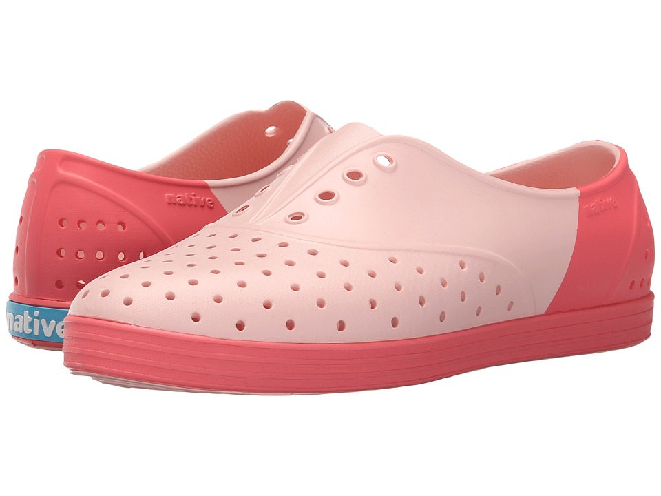 Native Shoes Jericho (Pucci Pink/Snapper Red/Snapper Block) Women