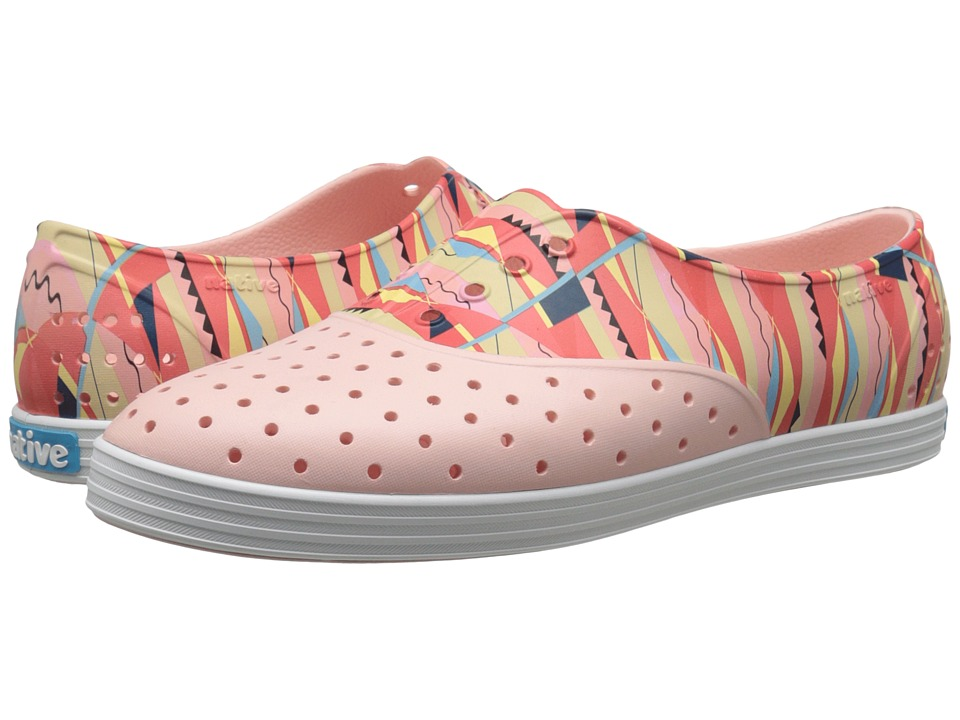 Native Shoes - Jericho (Pucci Pink/Shell White/Biggie Print) Women's Shoes