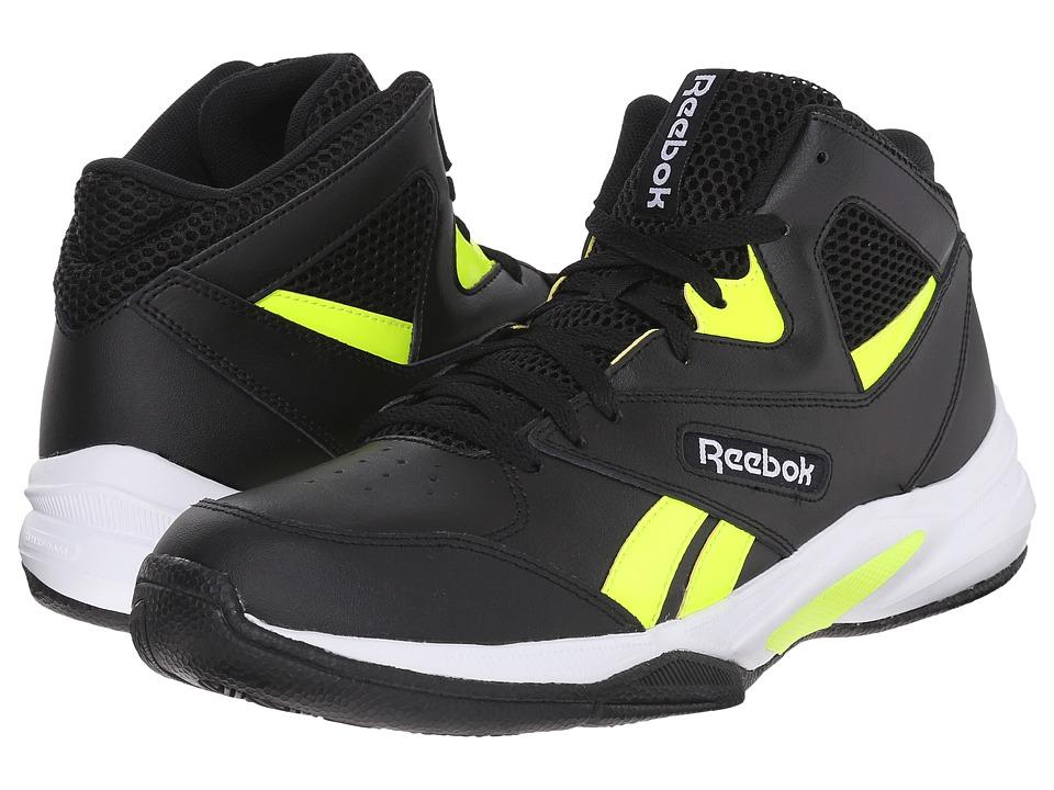 Reebok - Pro Heritage 2 (Black/Solar Yellow/White) Men's Basketball Shoes