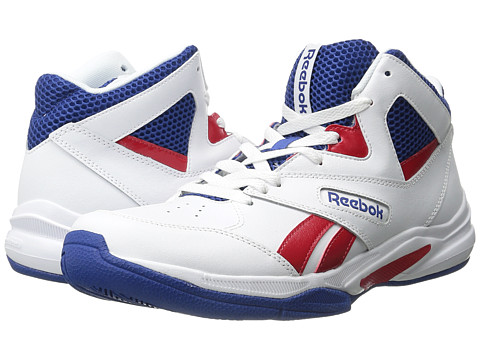 Reebok - Pro Heritage 2 (White/Scarlet/Team Dark Royal/Black) Men's Basketball Shoes