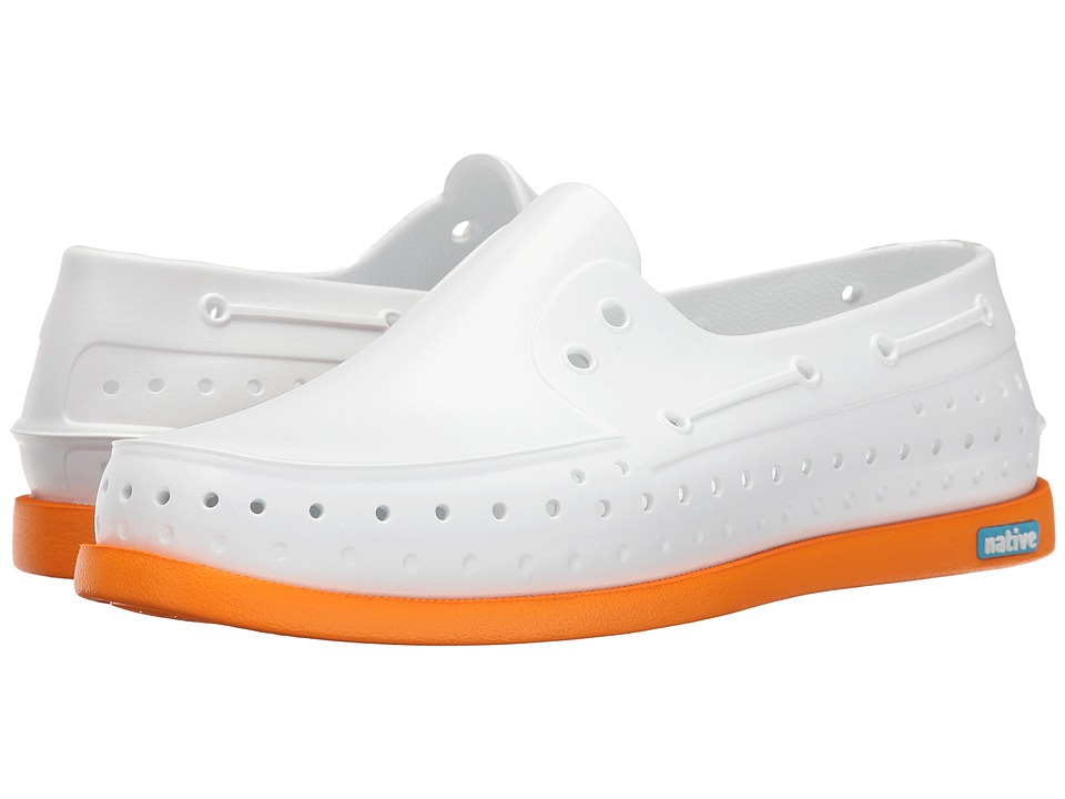 Native Shoes - Howard (Shell White/Begonia Orange) Shoes
