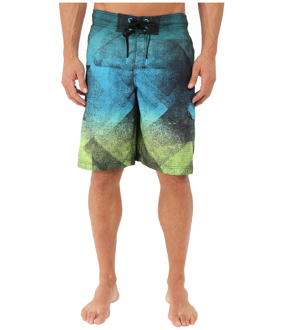 Speedo - Prism Blend E-Board (Pop Green) Men's Swimwear