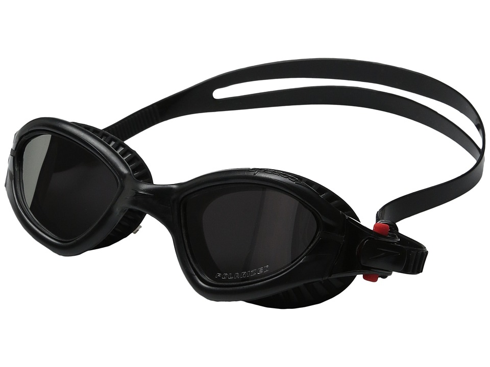 Speedo - MDR 2.4 Polarized Goggle (Speedo Black) Water Goggles