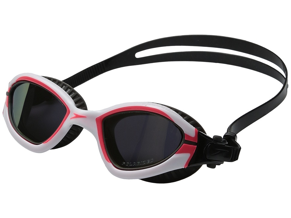 Speedo - MDR 2.4 Polarized Goggle (White/Diva Pink) Water Goggles