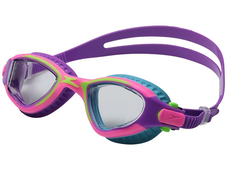 Speedo - Jr. MDR 2.4 Goggle (Pinkberry) Water Goggles