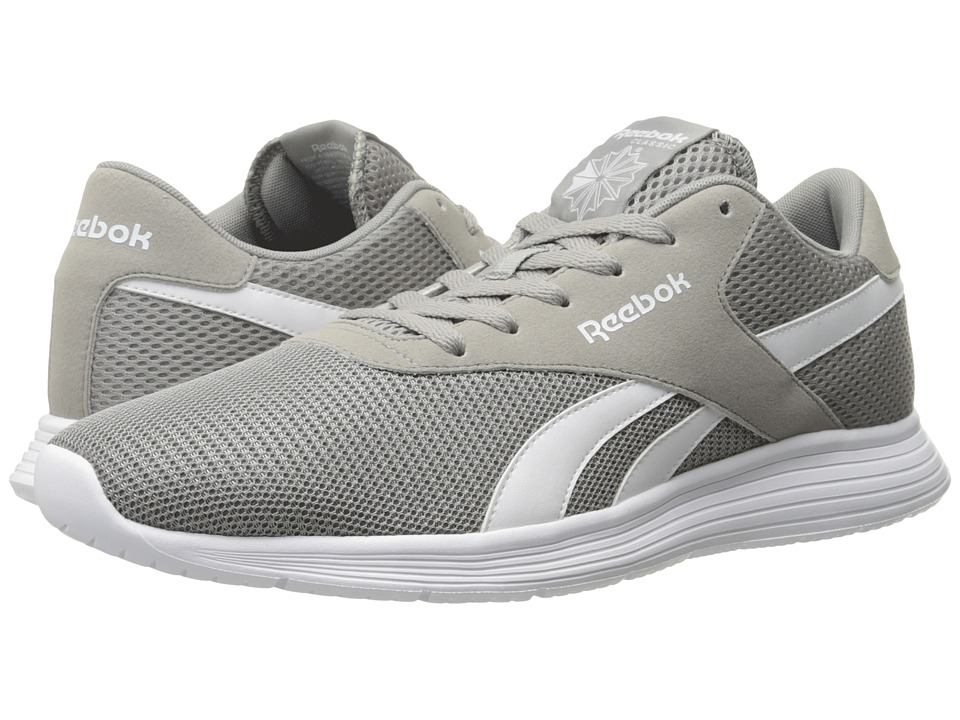Reebok - Royal EC Ride (Tin Grey/White) Men's Walking Shoes
