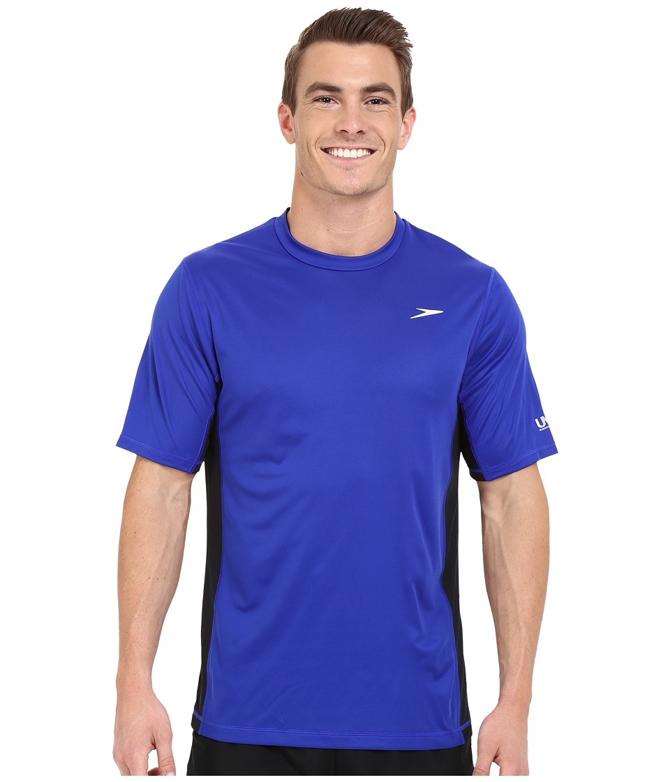 Speedo - Longview Swim Tee (Atlantic Blue) Men's Swimwear