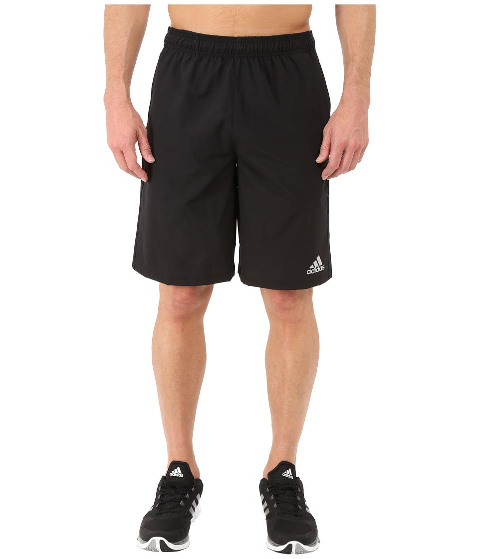 adidas - Climacore Woven Shorts (Black/Black) Men's Shorts