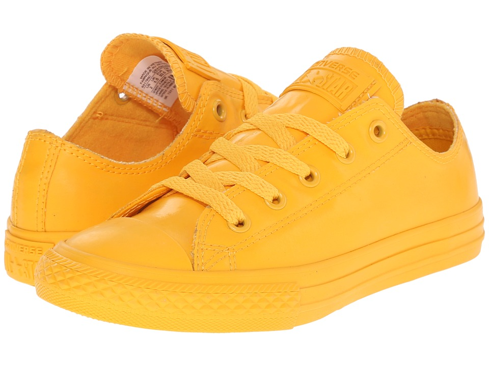 Converse Kids - Chuck Taylor All Star Rubber Ox (Little Kid/Big Kid) (Wild Honey/Wild Honey/Wild Honey) Kids Shoes