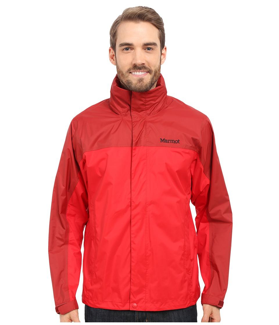 Marmot - PreCip Jacket (Team Red/Dark Crimson) Men's Jacket