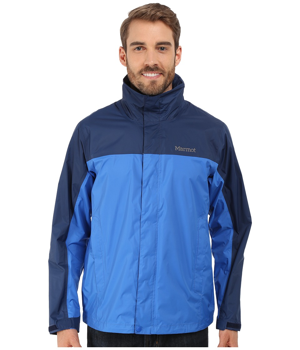 Marmot - PreCip(r) Jacket (True Blue/Arctic Navy) Men's Jacket