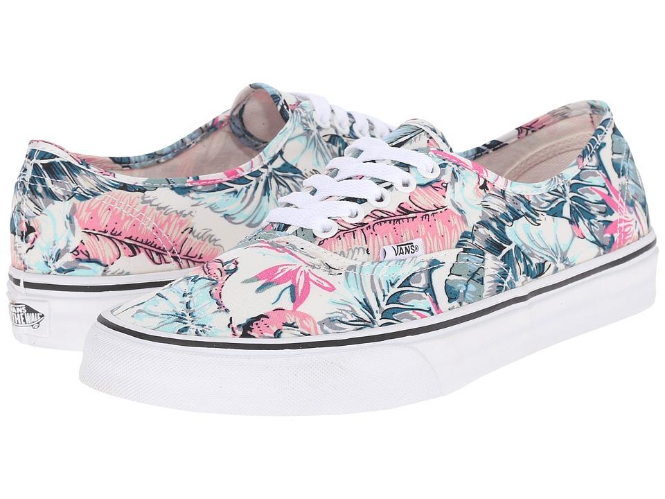 Vans - Authentic ((Tropical) Multi/True White) Skate Shoes