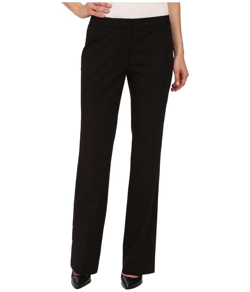 Calvin Klein - Satin Pants Detail (Black) Women's Casual Pants