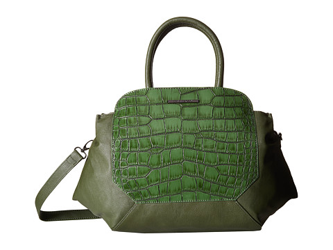 Steve Madden - Bkellen Satchel (Green) Satchel Handbags